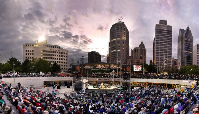 Detroit Jazz Fest at Hart Plaza